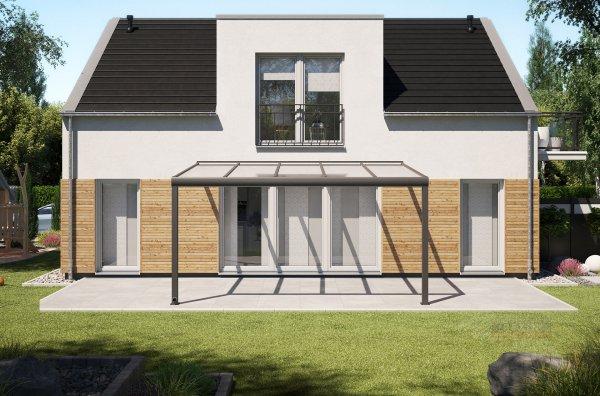 Alu-Terrassendach REXOpremium 5x3,5m