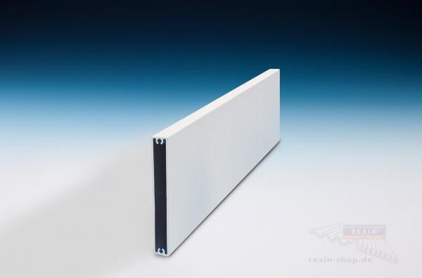 REXOboard Alu-Balkonbretter 100mm, weiß mit Seidenglanz