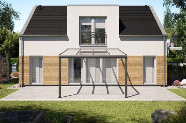 Alu-Terrassendach REXOpremium 4x4,5m