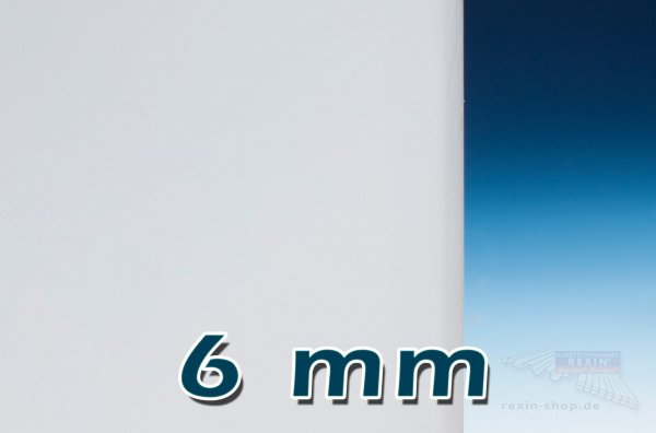 Plexiglas® GS Massivplatte, 6mm, opal satiniert