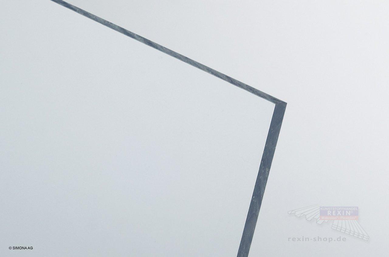 SIMONA Hart-PVC Platte, transparent