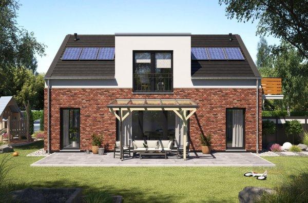 REXOmaster Holz Terrassenüberdachung VSG 4m x 3m