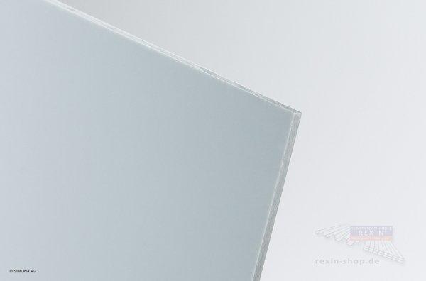 Hart-PVC Platte, hellgrau