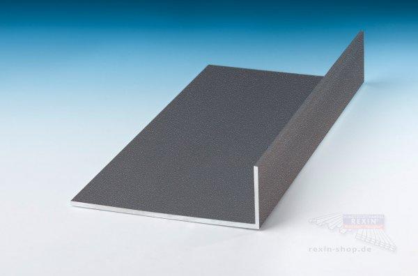 Aluminium-Winkelprofile 60mm x 40mm x 2mm, farbig beschichtet