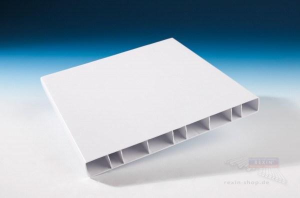 Baukulit PVC-Balkonbretter, 200er, weiß
