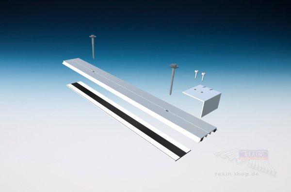 REXOsystem EZ Alu-Verbinder-Set für 16mm Stegplatten