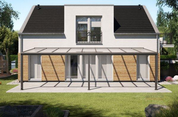 Alu-Terrassendach REXOpremium 9x3,5m