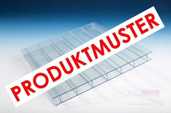 Makrolon® multi UV 2-16/30 Stegplatte, 16mm, transparent-hitzestop CC MUSTER