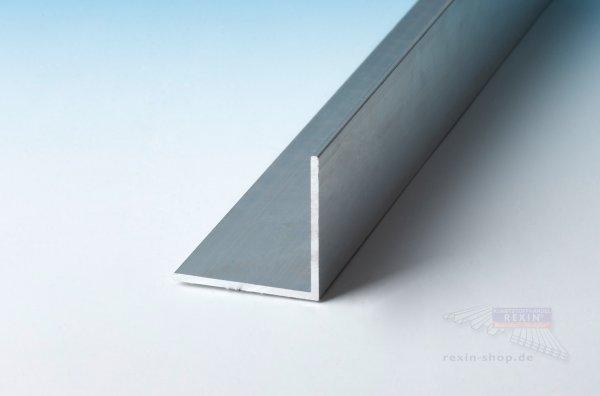 Aluminium-Winkelprofile 20mm x 20mm x 2mm, pressblank