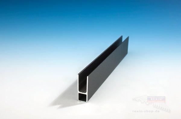 Alu-Rahmen-Profil, anthrazit