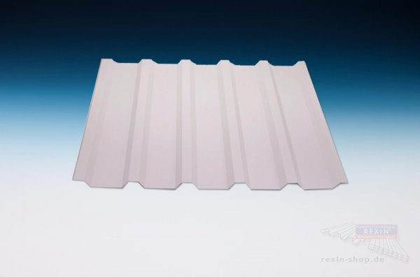 Stahl-Trapezblech grau-weiß 35/207