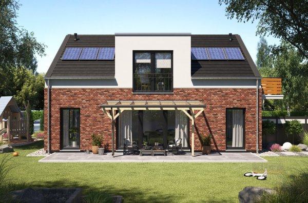 REXOmaster Holz Terrassenüberdachung VSG 5m x 2m