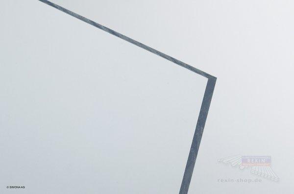 Hart-PVC Platte, transparent